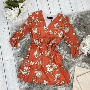 NWT Lovina Wrap Dress by MINKPINK